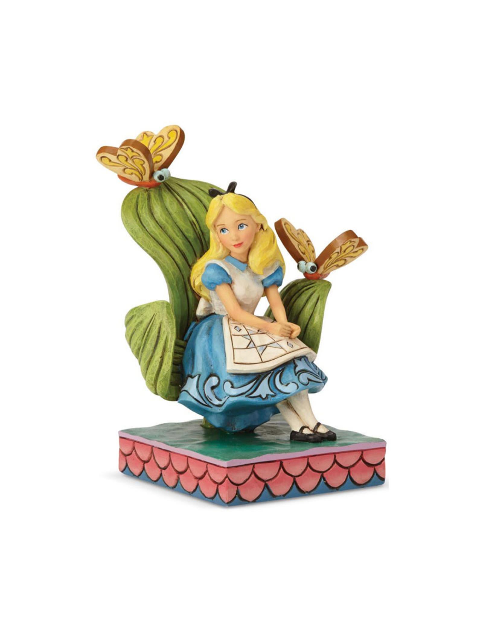 Disney Disney ( Disney Traditions Figurine ) Alice with Butterflies
