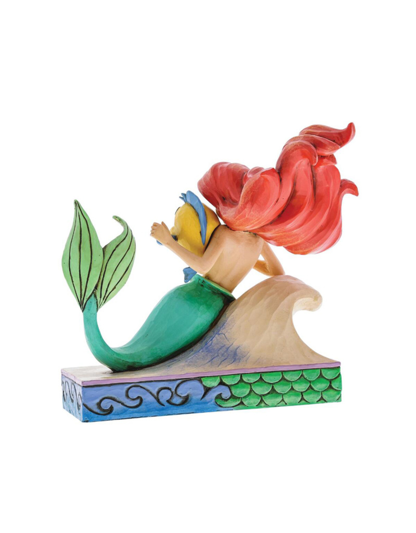 Disney Disney ( Disney Traditions Figurine ) Ariel & Polochon
