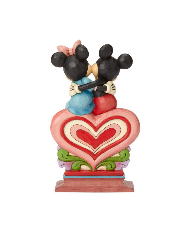 Disney Disney ( Disney Traditions Figurine ) Mickey & Minnie Heart