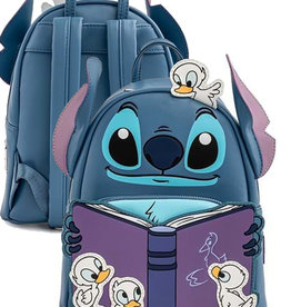 Disney ( Loungefly Mini Backpack ) Stitch with Book