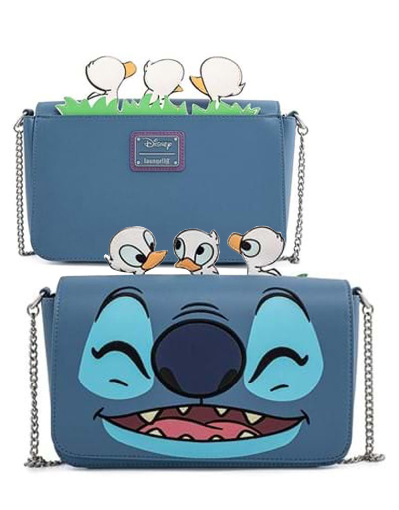 Disney ( Loungefly Handbag ) Stitch with Ducks