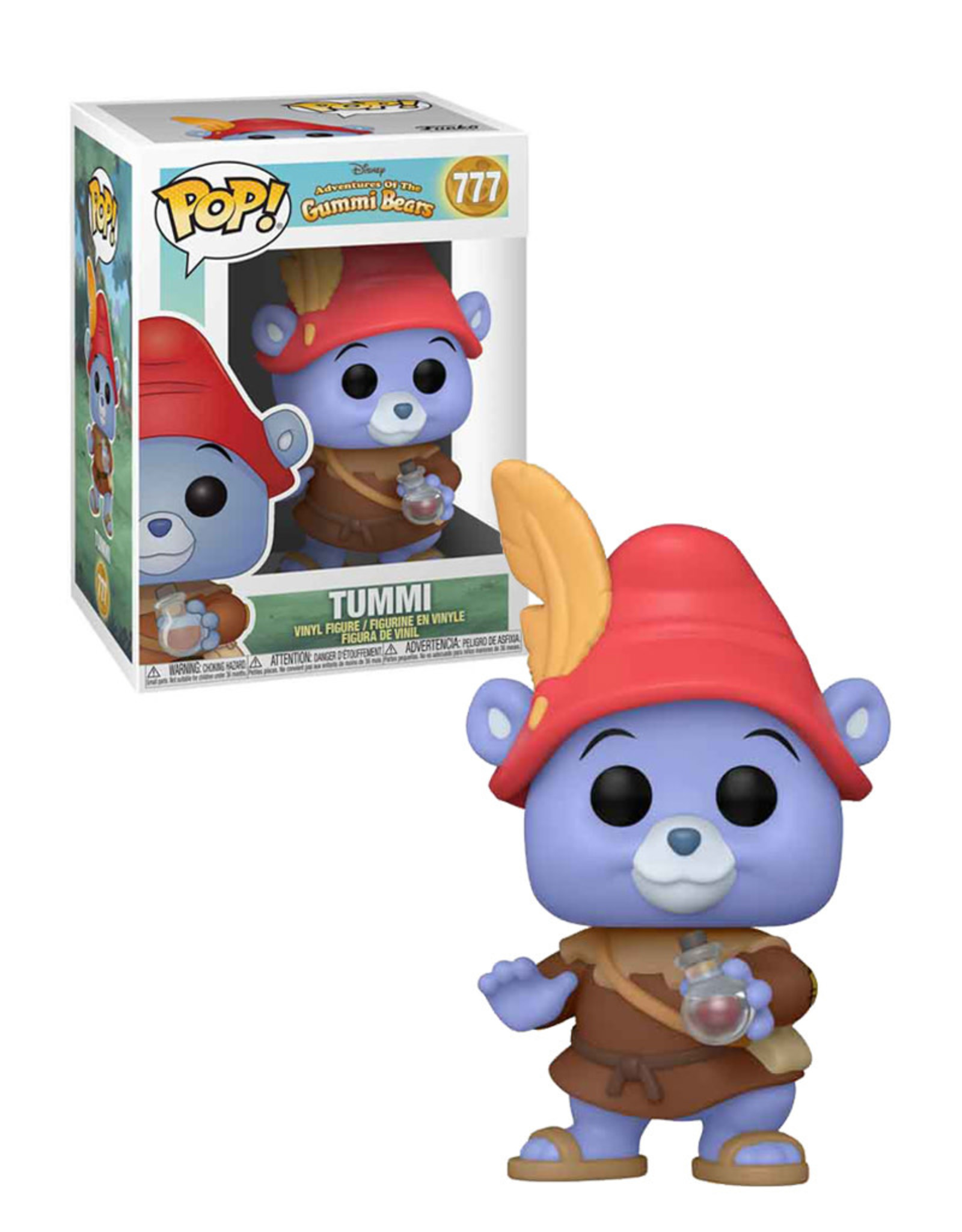 Adventures of the Gummi Bears 777 ( Funko Pop ) Tummi