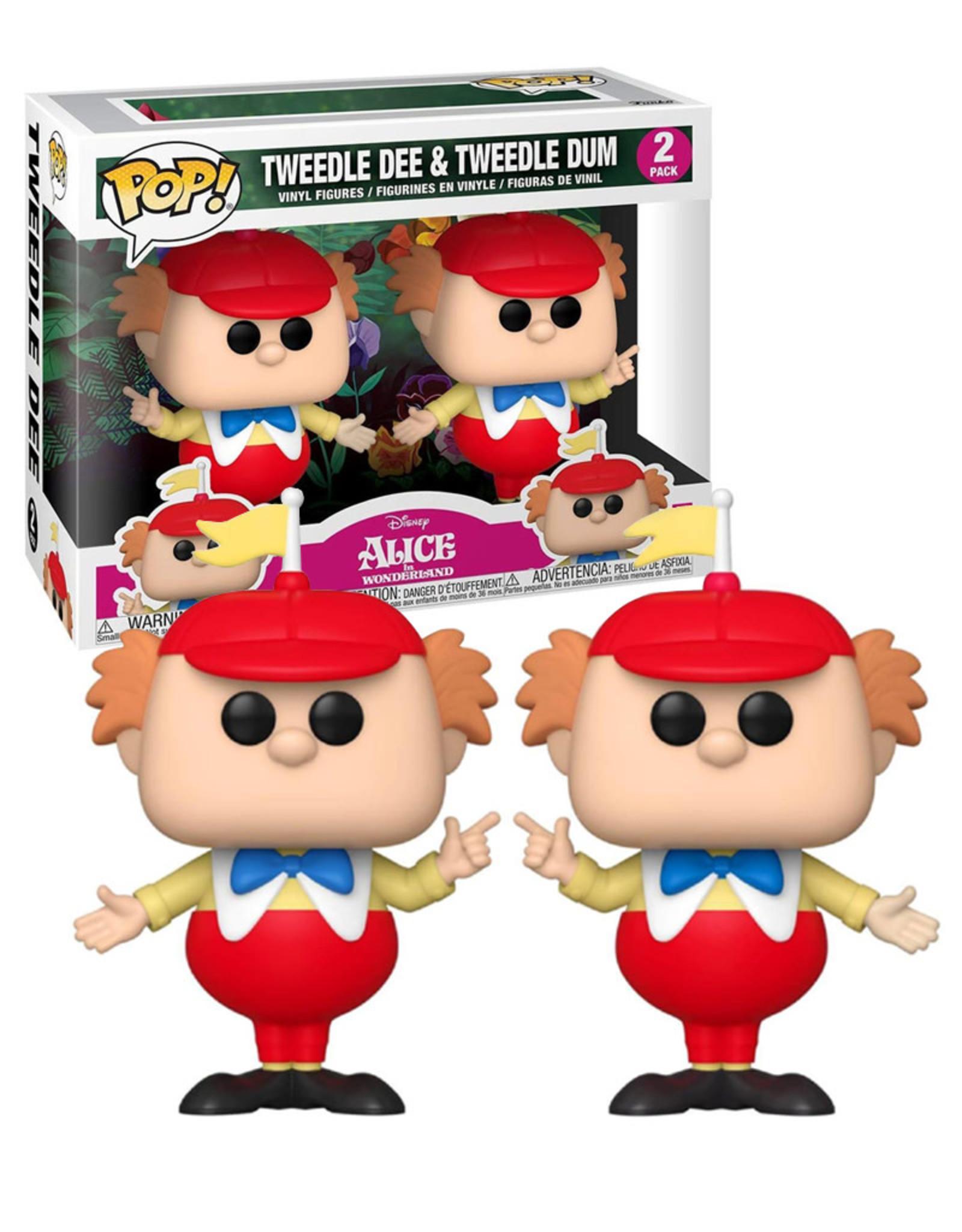 Disney Alice in Wonderland 2 Pack ( Funko Pop ) Tweedle Dee & Tweedle Dum