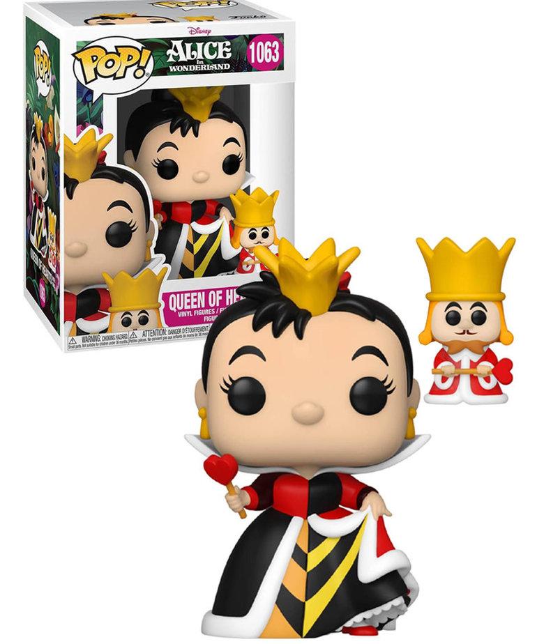 Disney Alice in Wonderland 1063 ( Funko Pop ) Queen of Hearts with King