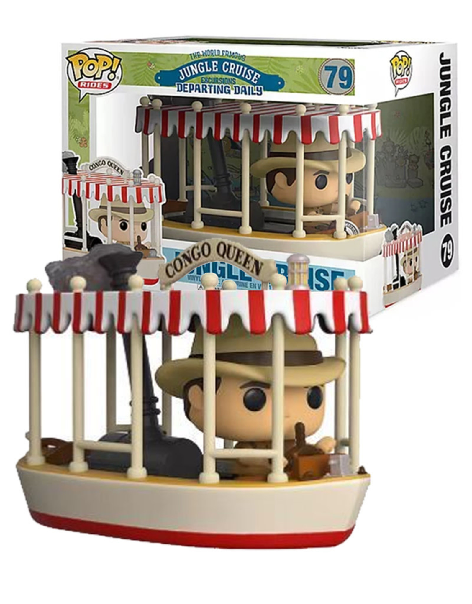 The Wolrd Famous Excursions 79 ( Funko Pop ) Jungle Cruise