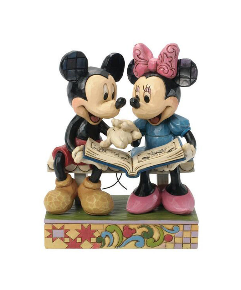 Disney Disney ( Disney Traditions Figurine ) Mickey & Minnie Book