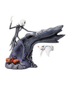 The Nightmare Before Christmas ( Grand Jester Studios Figurine ) Jack & Zero