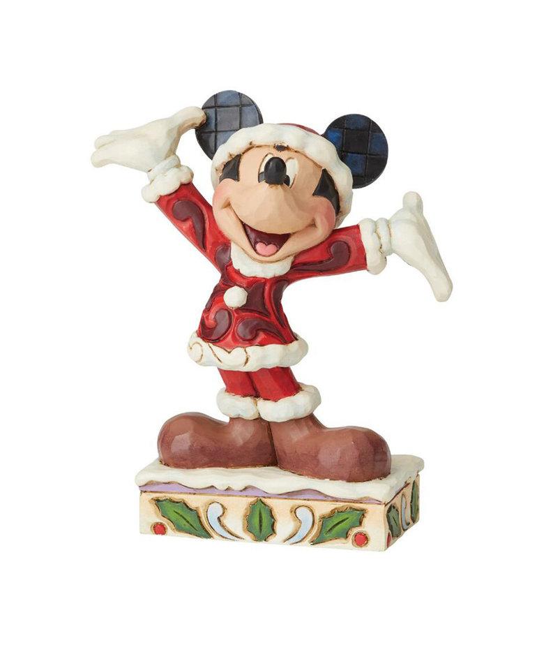 Disney ( Disney Traditions Figurine ) Mickey Christmas
