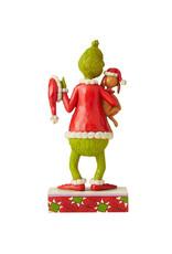 The Grinch ( Jim Shore Figurine )  Grinch & Max