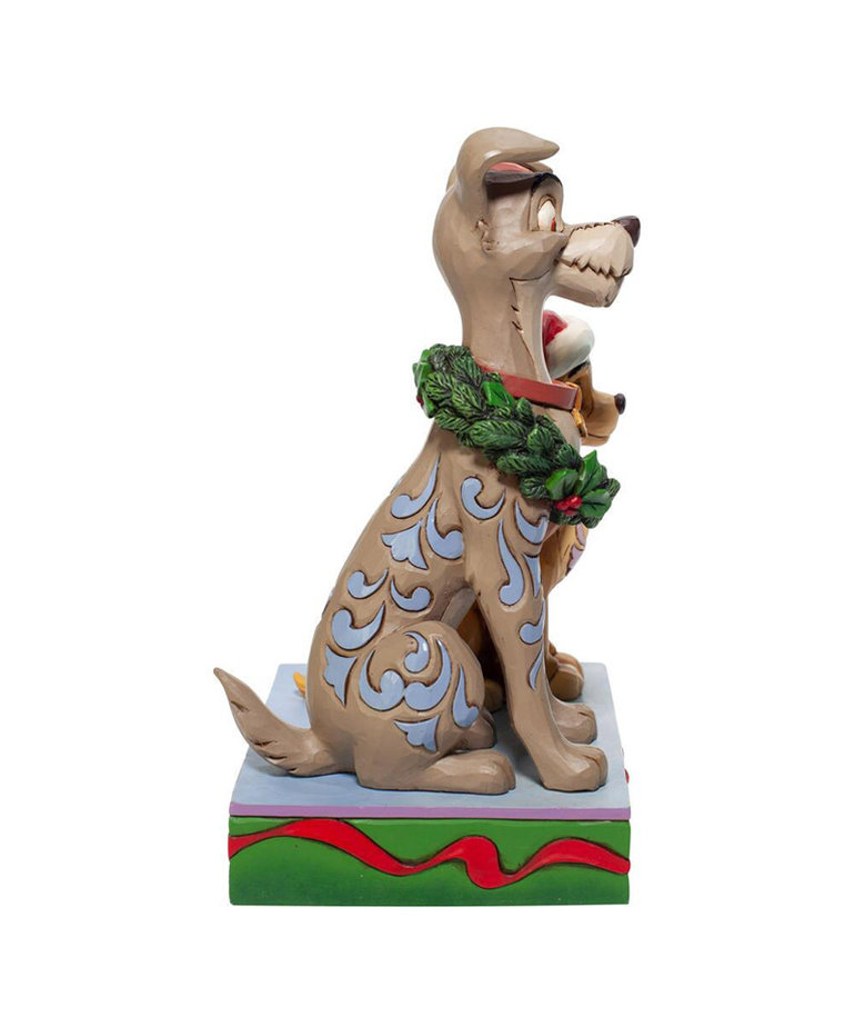 Disney Disney ( Disney Traditions Figurine ) Lady & The Tramp Christmas