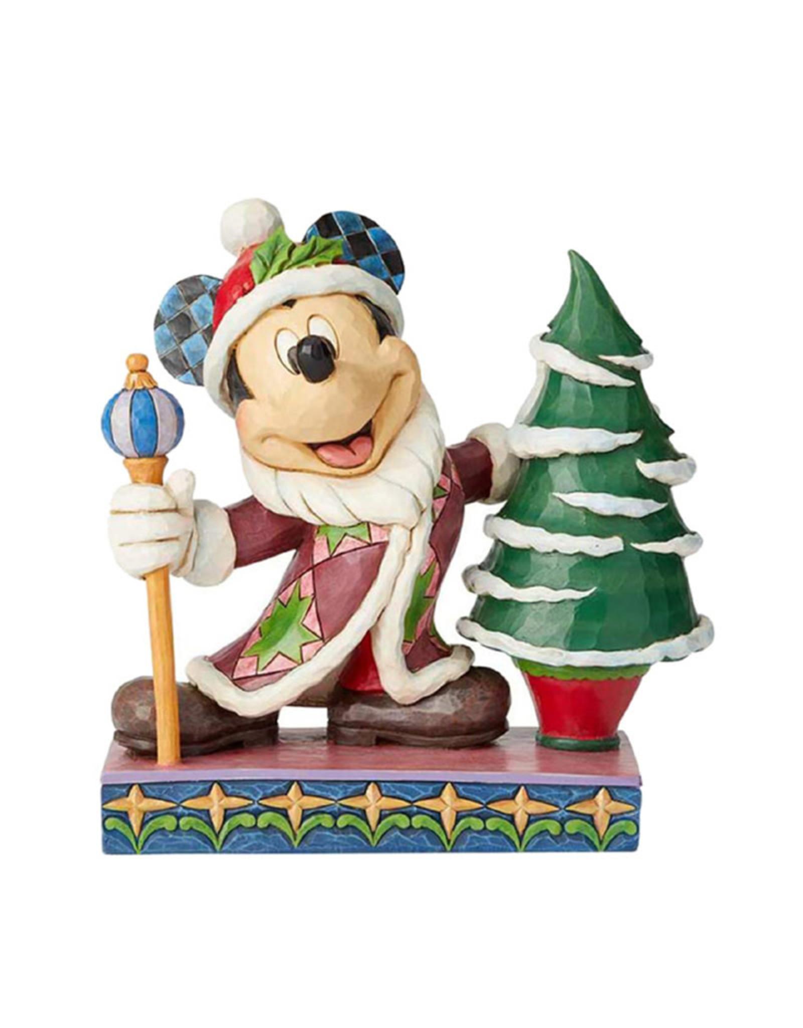 Disney Disney ( Disney Traditions Figurine ) Mickey Christmas Tree