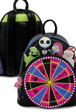 Disney The Nightmare Before Christmas ( Loungefly Mini Backpack ) Oogie Boogie Wheel