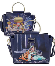 Disney ( Loungefly Handbag ) Jasmine Castle & Characters