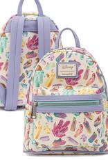 Disney ( Loungefly Mini Backpack ) Disney Animals Crystals