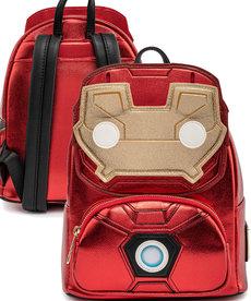 Marvel ( Loungefly Mini Backpack ) Iron Man Light-Up