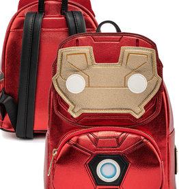 Marvel ( Mini Sac à Dos Loungefly ) Iron Man Lumineux