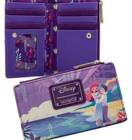 Disney ( Portefeuille Loungefly ) Ariel Château & Personnages