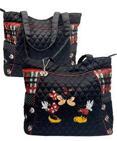 Disney ( Bradford Exchange Handbag ) Mickey & Minnie Kiss
