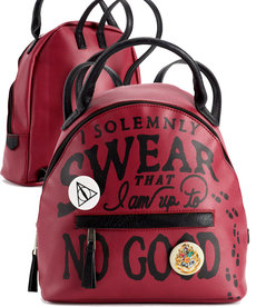 Harry Potter Harry Potter ( Bioworld Canada Mini Backpack ) I Solemnly Swear That I Am Up To No Good