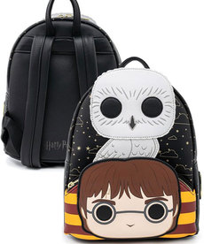 Harry Potter ( Loungefly Mini Backpack ) Harry Potter & Hedwig