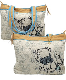 Disney ( Bradford Exchange Tote Bag ) Winnie The Pooh