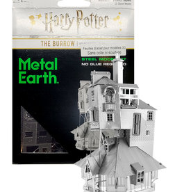 Harry Potter Harry Potter ( Metal Earth ) The Burrow Weasley Family Home