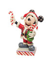 Disney Disney ( Jim Shore Figurine ) Mickey with Candy Canes