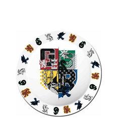 Harry Potter Harry Potter ( Set of 4 Melamine Plates ) Hogwarts Houses