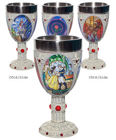 Disney ( Disney Showcase Stainless Steel Chalice ) Beauty and The Beast