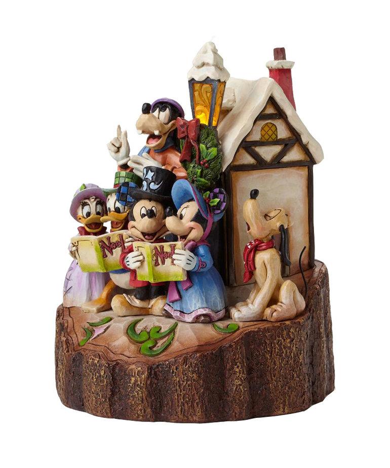Disney ( Disney Traditions Figurine ) Mickey & Friends Singing