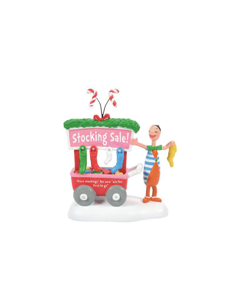 The Grinch ( Department 56 Grinch Village Figurine ) Stocking Sale !