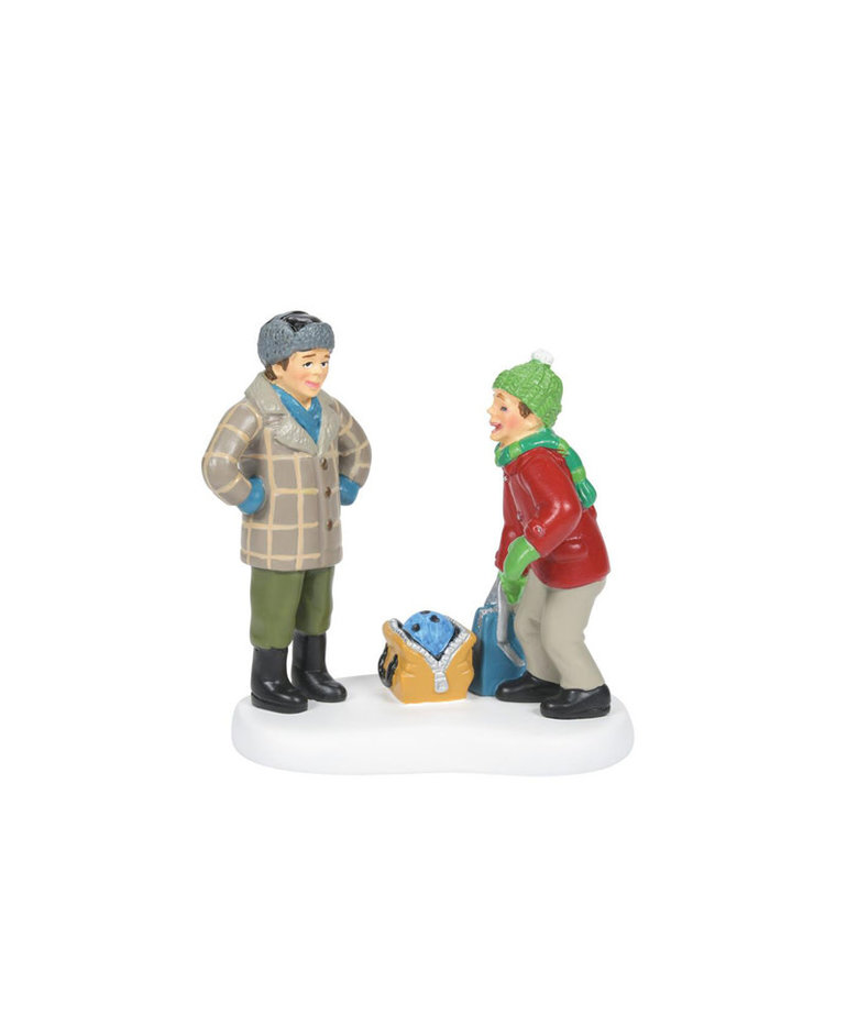 A Christmas Story ( Department 56 A Christmas Story Village Figurine ) Bowling Ball