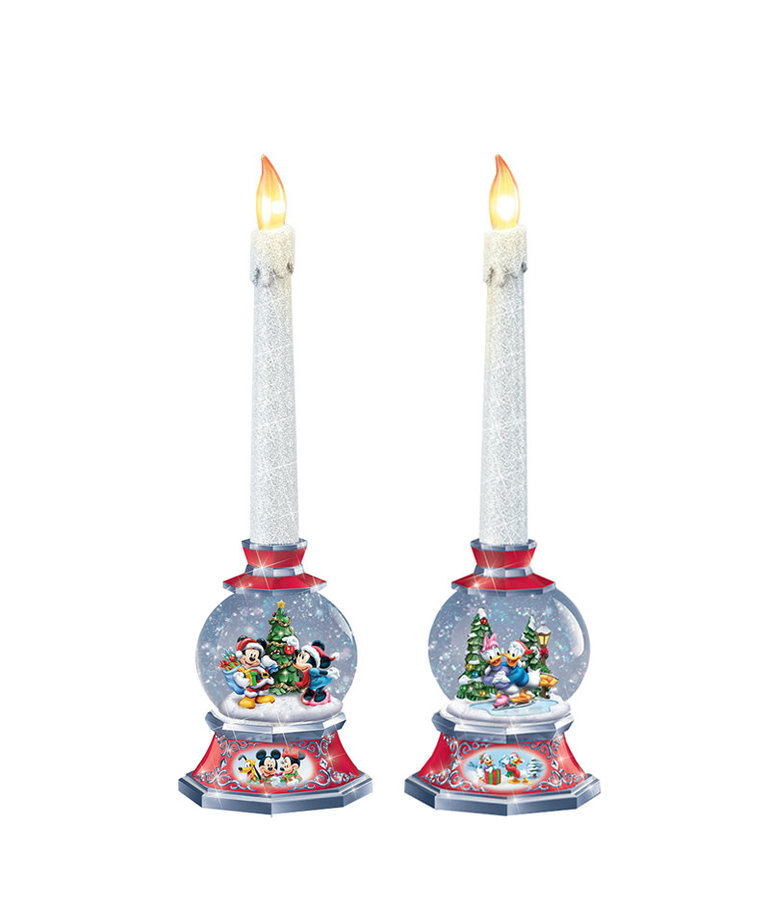 Disney Disney ( Bradford Exchange Disney Candles ) Mickey & Friends Christmas