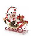 Disney ( Department 56 Figurine ) Minnie & Mickey Christmas Mistletoe