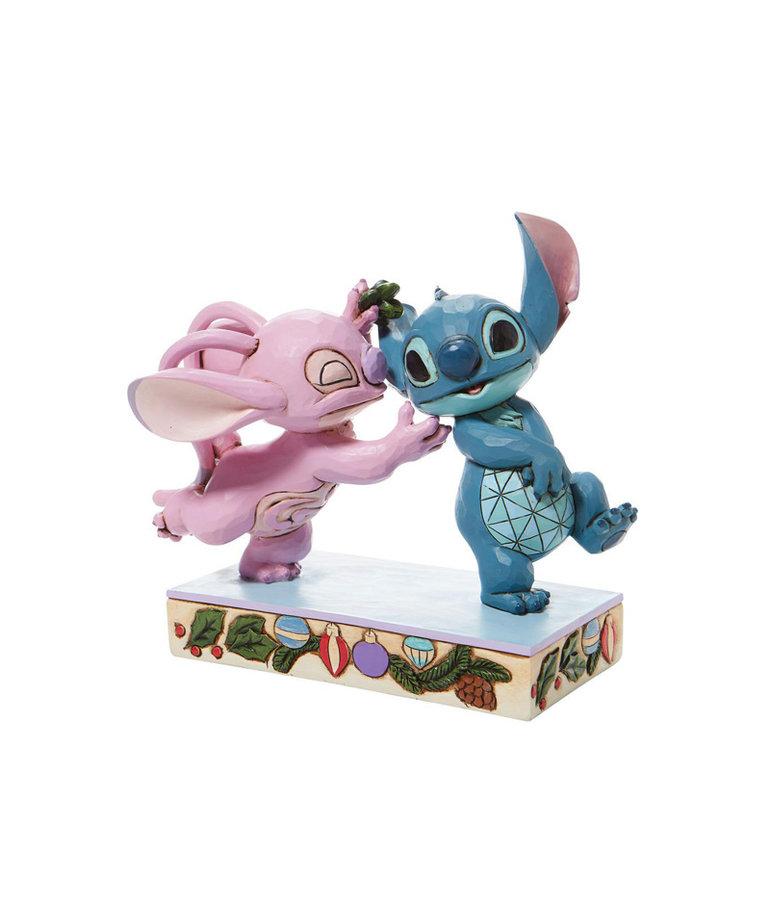 Disney ( Disney Traditions Figurine ) Angel Stitch Kiss