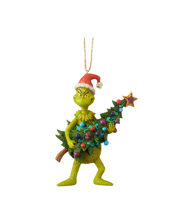 The Grinch ( Jim Shore Figurine ) Grinch with Christmas Tree