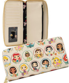 Disney ( Loungefly Wallet ) POP Princess Circles