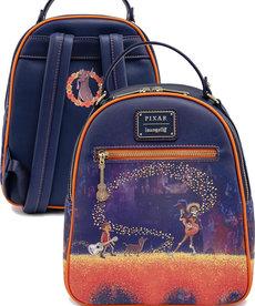 Disney Pixar ( Loungefly Mini Backpack ) Coco Marigold Bridge