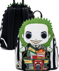 Beetlejuice ( Loungefly Mini Backpack ) '' Glow in the Dark ''