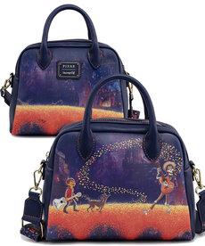 Disney Pixar ( Loungefly Handbag ) Coco Marigold Bridge