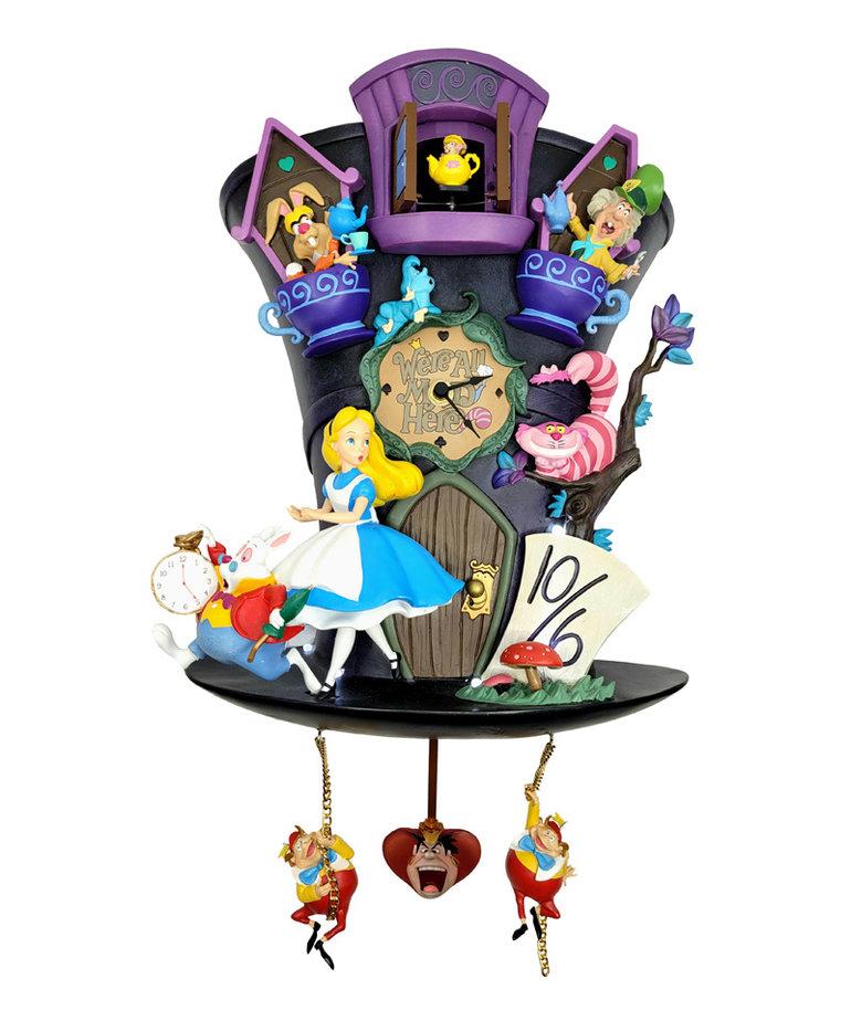 Disney Disney ( Animated Clock ) Alice in Wonderland