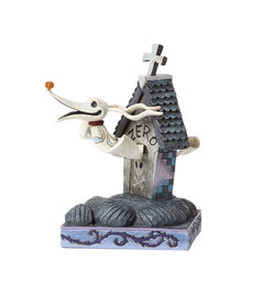 The Nightmare Before Christmas ( Disney Traditions Figurine ) Zero House