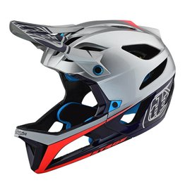 TROY LEE DESIGNS Troy Lee Designs State Race Helmet SIL/NVY MD/LG
