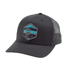 YETI YETI HAT TRUCKER PATCH SNAPBACK BLACK
