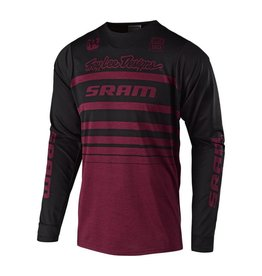 TROY LEE DESIGNS Troy Lee Designs Skyline L/S Jersey STREAMLINE SRAM HTR SANGRIA LG
