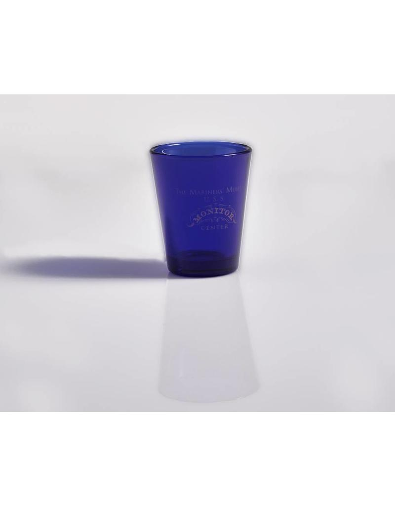 The USS Monitor Center Shot Glass