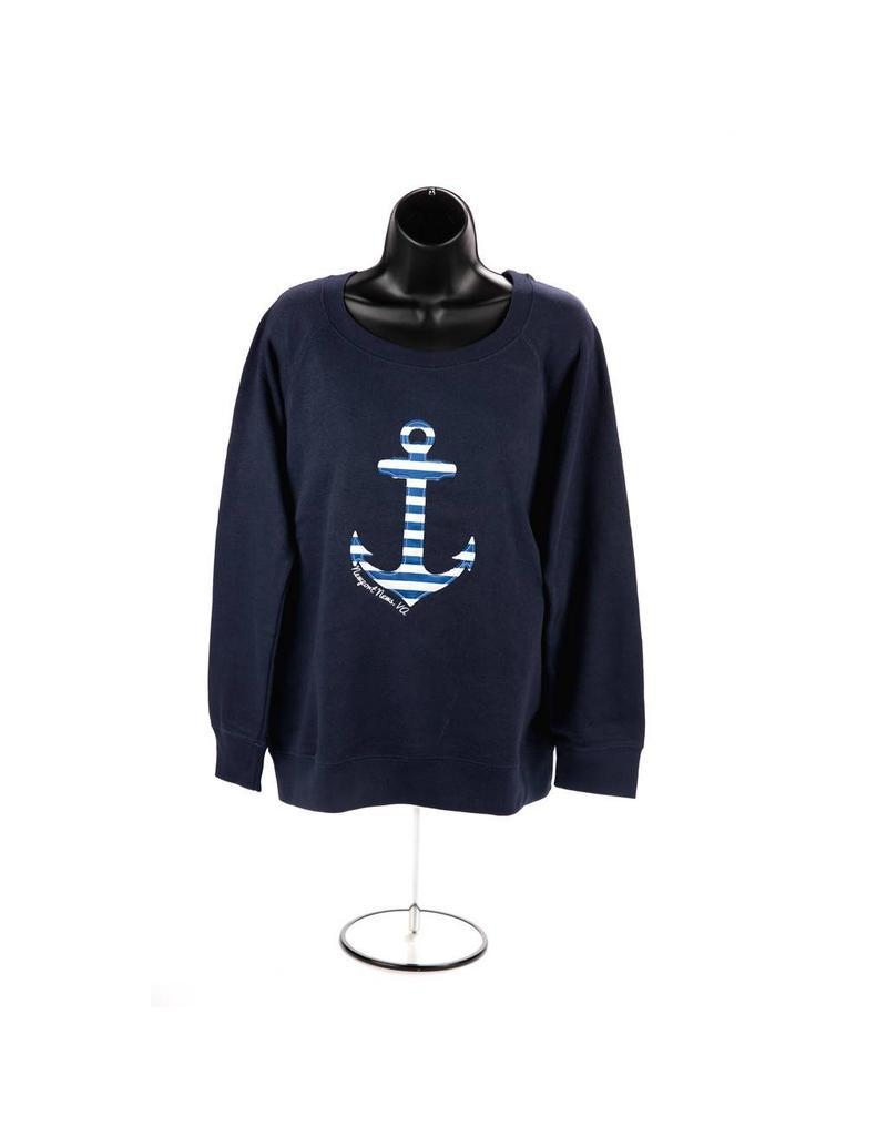 Carrie Vee Anchor Crew Neck Sweatshirt