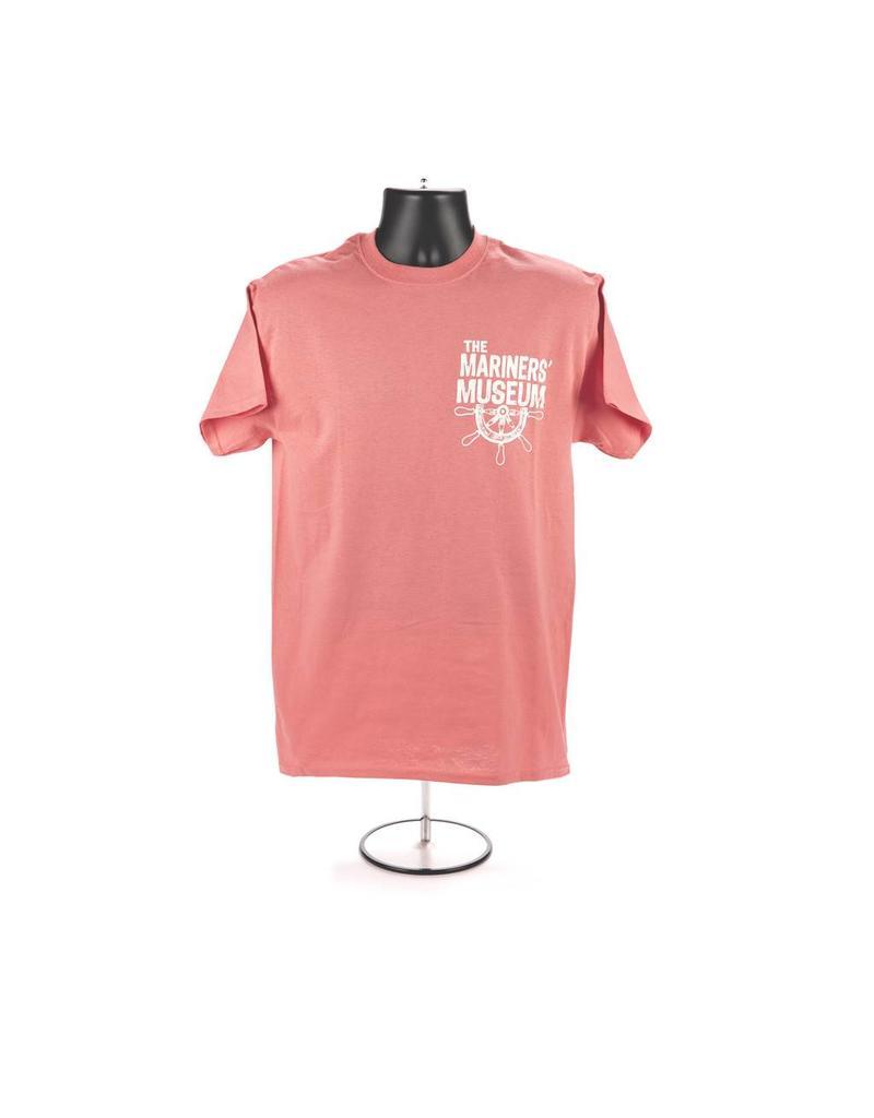 Half Ships Wheel T-Shirt