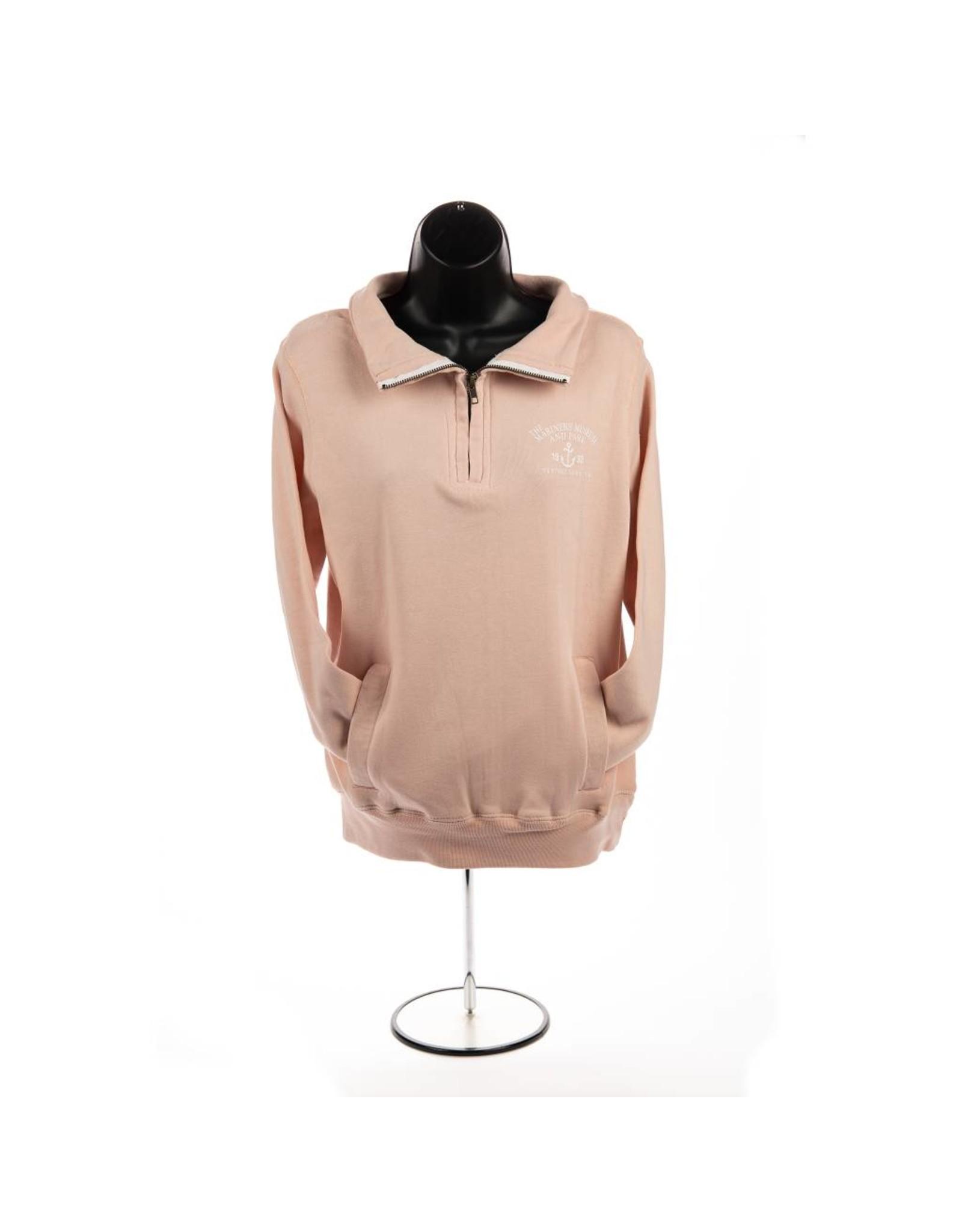 Ladies Quarter Zip Pullover