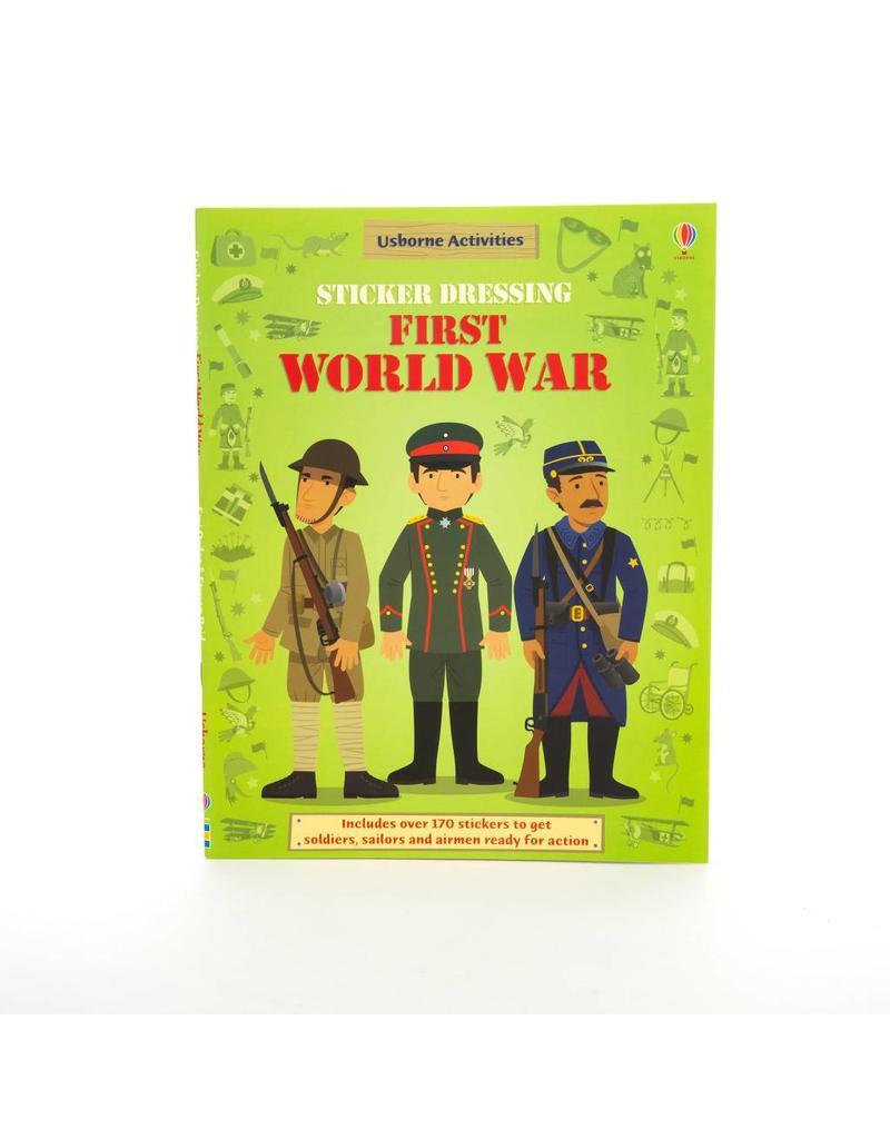 Sticker Dressing Book 1st World War
